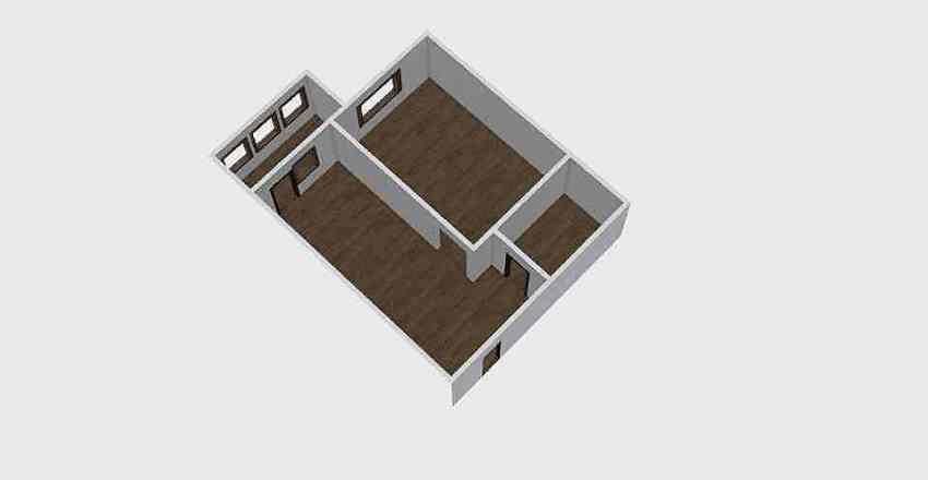 1-комн_0334 Interior Design Render