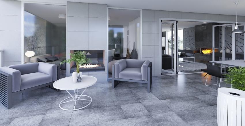 Apartamento Urbanización lujosa Interior Design Render