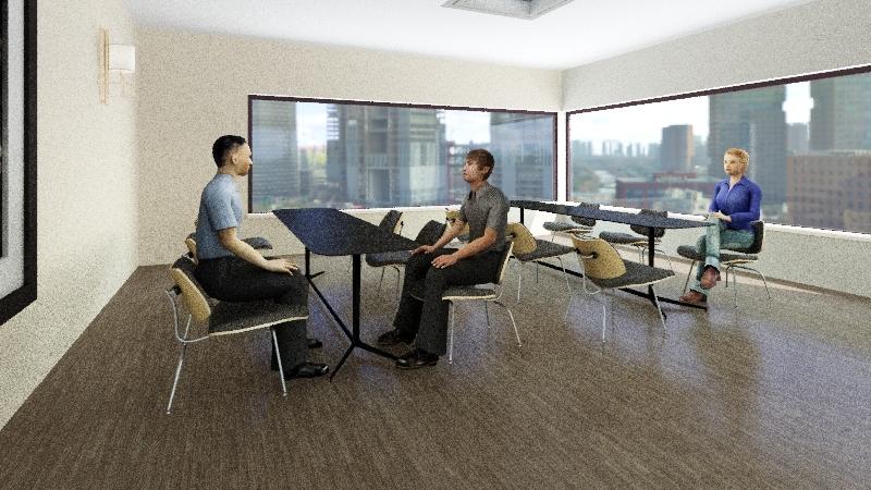 INCUBATOR Interior Design Render