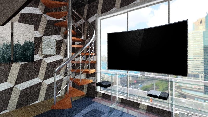 angels house Interior Design Render