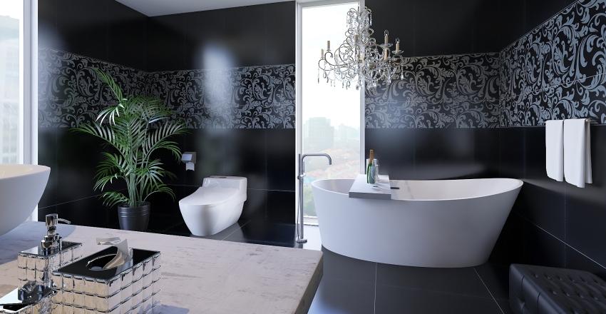 Baño apartamento lujoso Interior Design Render