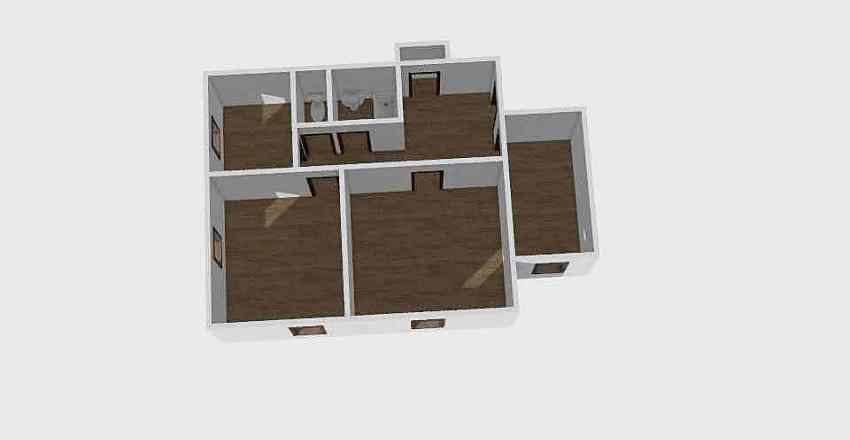 3-комн_0214 Interior Design Render