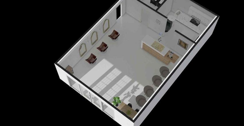 미용실2 Interior Design Render