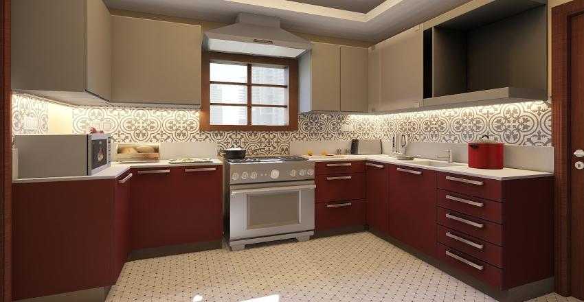 2. KITCHEN P101 Interior Design Render