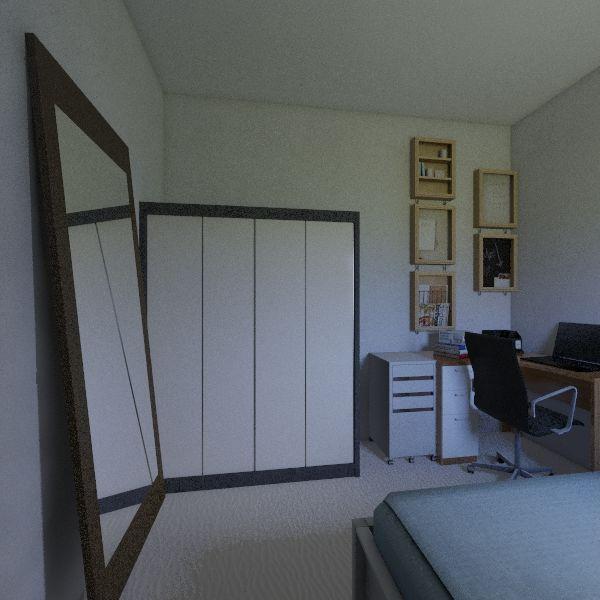 Quarto Flavia 2 Interior Design Render