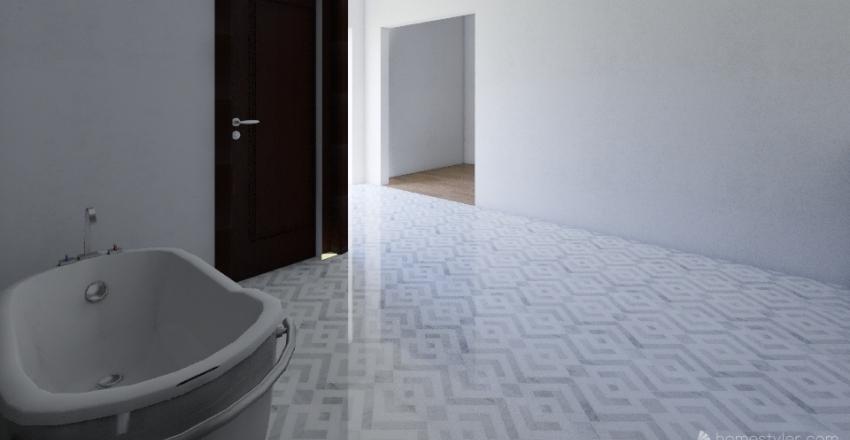 Strohacker Bathroom Remodel Interior Design Render