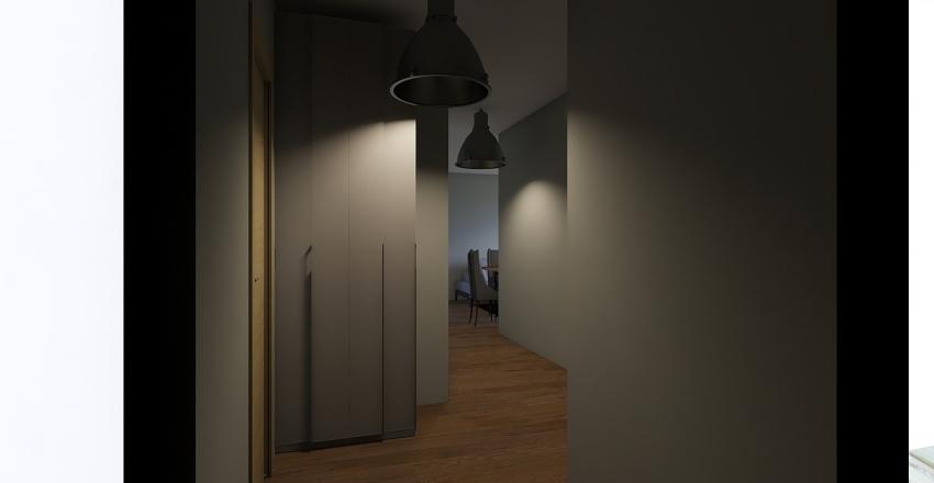 ΤΡΙΑΝΔΡΙΑ - ΡΟΥΛΑ Interior Design Render