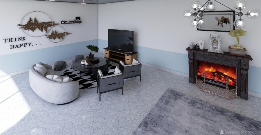 Nature and Comfy Interior Design Render
