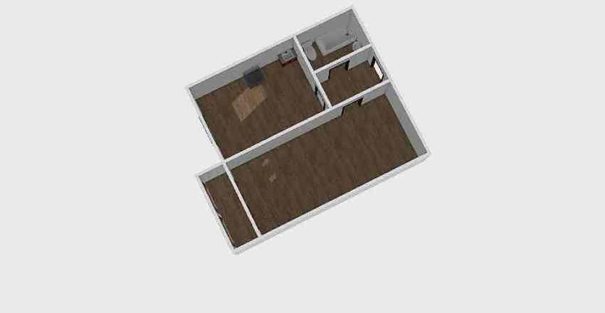 1-комн_0336 Interior Design Render