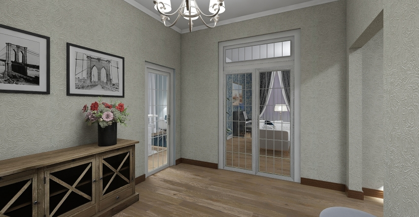 кв Классика Interior Design Render