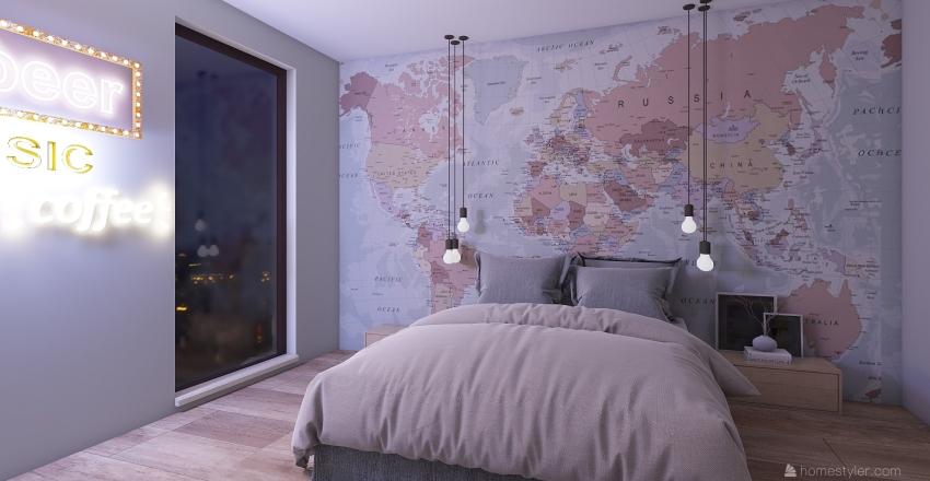 design moderno Interior Design Render