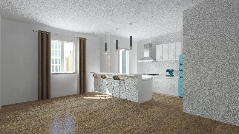Casa De Luca Interior Design Render