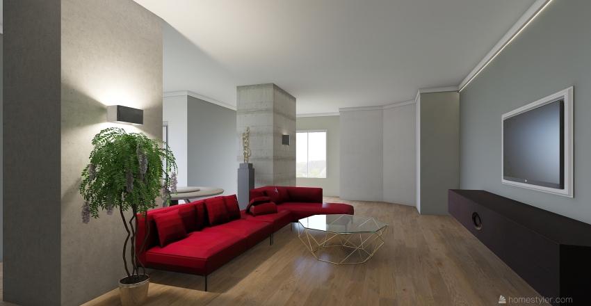 salone grande Interior Design Render