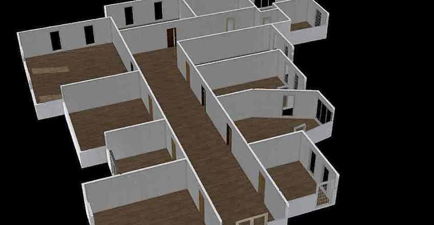 dizajn tlocrt Interior Design Render