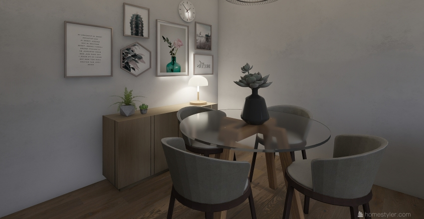 sala jeca2 Interior Design Render