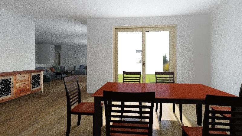 House-1 Interior Design Render
