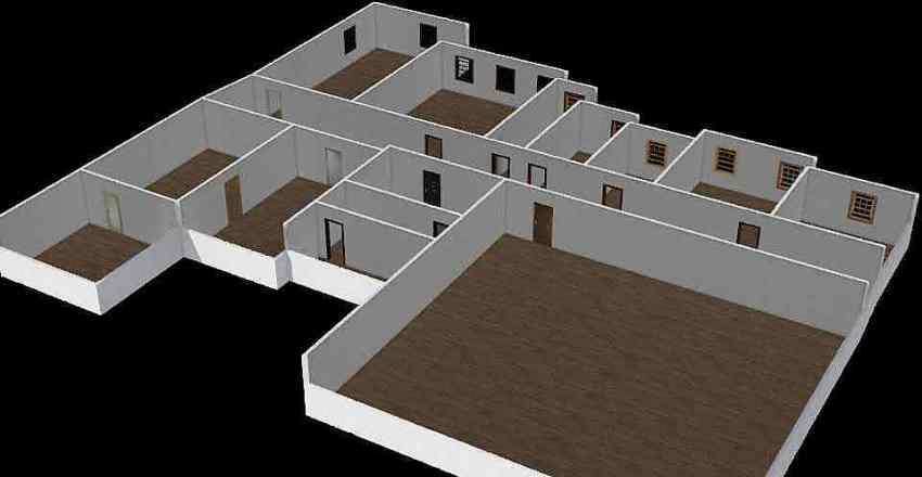 Tlocrt Interior Design Render