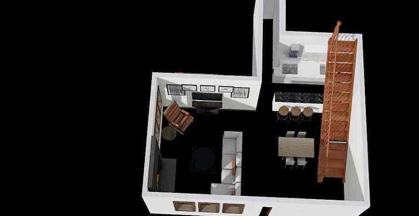 Gore Unit 23 Interior Design Render