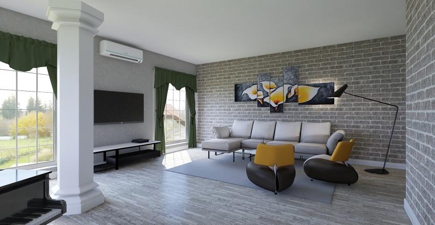 Дизайн проект 2 Interior Design Render