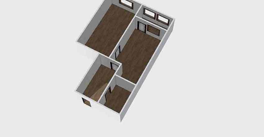 1-комн_0338 Interior Design Render