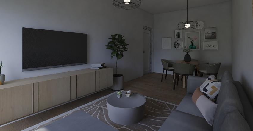 sala jeca Interior Design Render