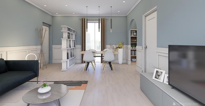 Casa GM Interior Design Render