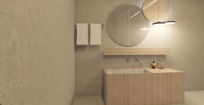 Suite Moderna Interior Design Render