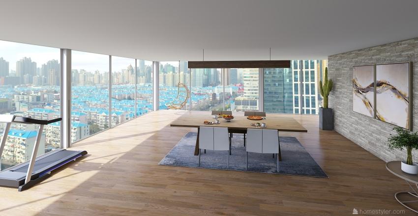 NYC apartment  Interior Design Render