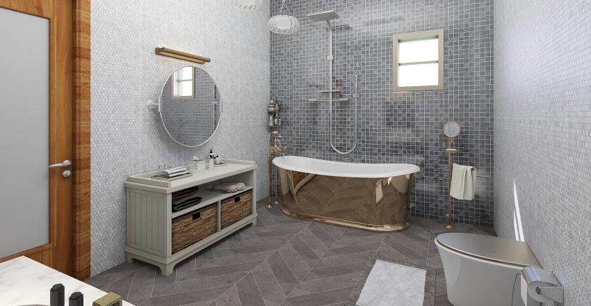 master  room Interior Design Render