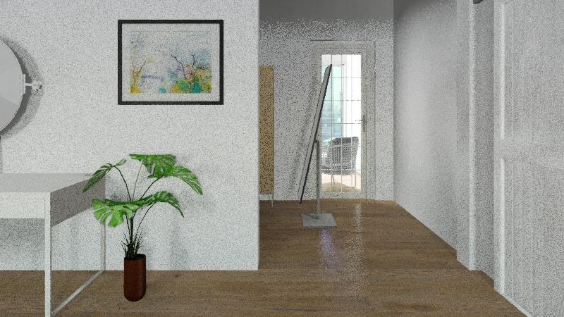 Drean room Interior Design Render