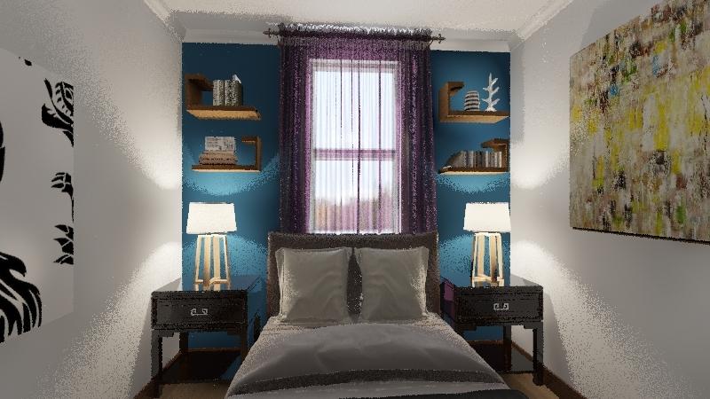 Julio's Room Revised Interior Design Render