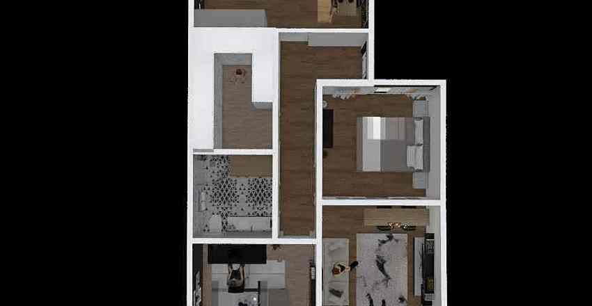 HP Interior Design Render