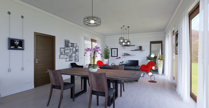 PROJET Interior Design Render