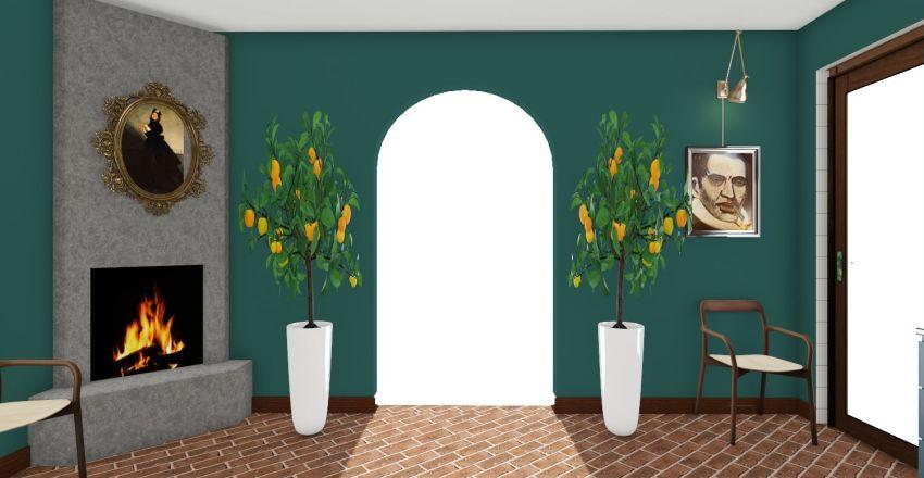 INDS2505 Kitchen Project Interior Design Render