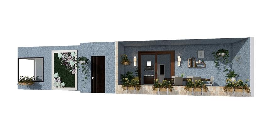little-home Interior Design Render
