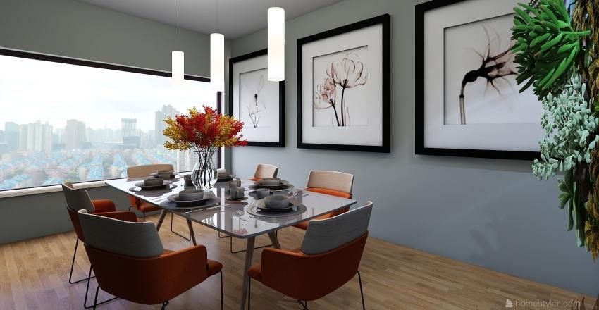 ffffff Interior Design Render