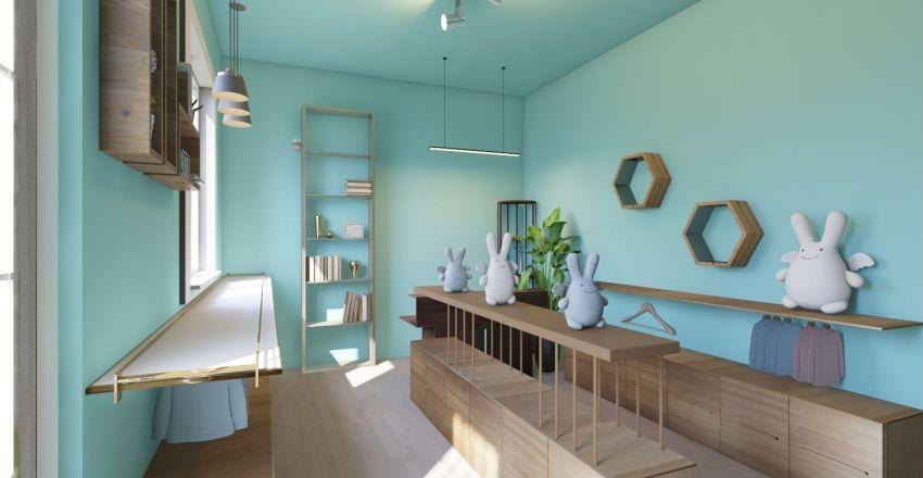 phong tre em Interior Design Render