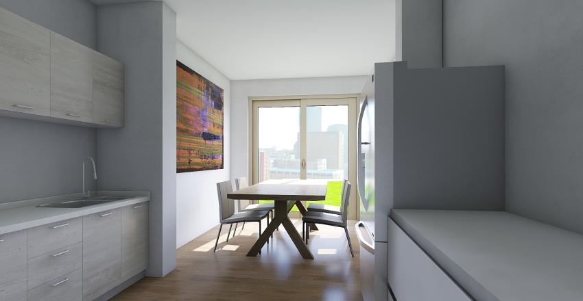 newlands road ground floor Interior Design Render