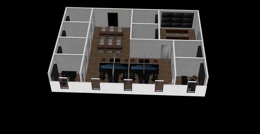 内蒙古交通运输数据实验室平台设计 Interior Design Render