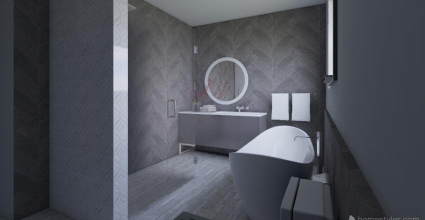 Julie master bathroom  - alternative  Interior Design Render