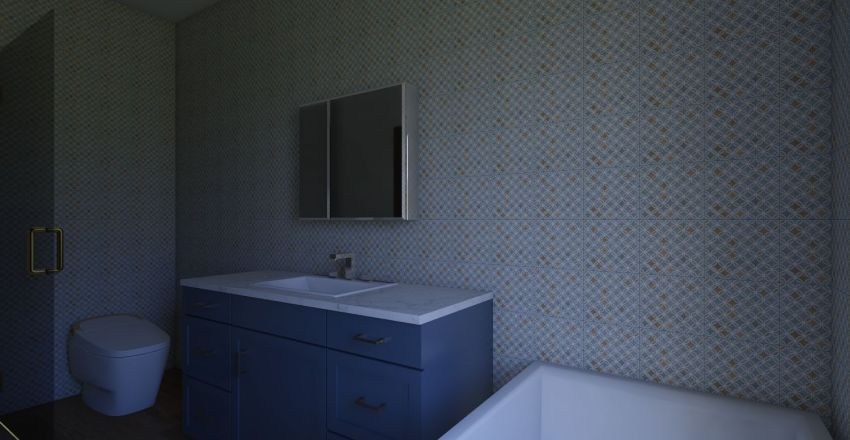 łazienka nasza Interior Design Render