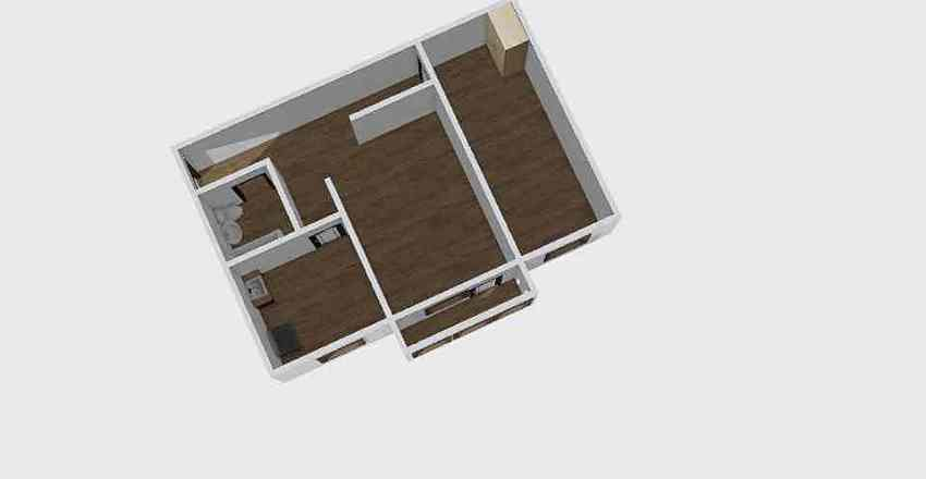 2-комн_001_9 Interior Design Render