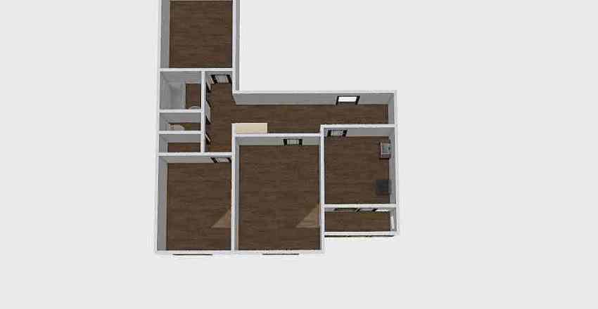 3-комн_0215 Interior Design Render