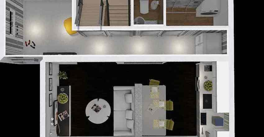 paneelide disain Interior Design Render