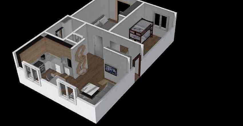 Grota 67 Interior Design Render