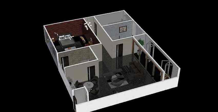 30312  다슬이네 집 Interior Design Render