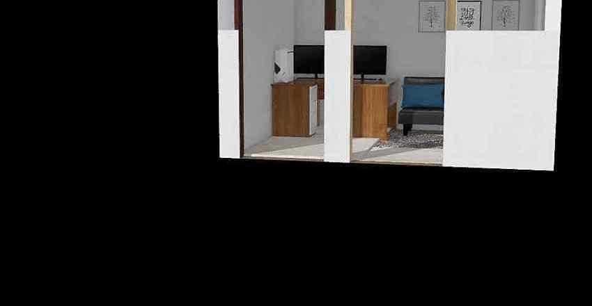 office/guest space Interior Design Render
