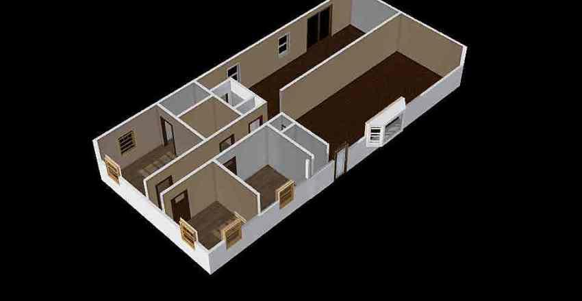 1289 Black Cherry Interior Design Render