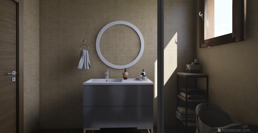 Mommys bathroom Interior Design Render
