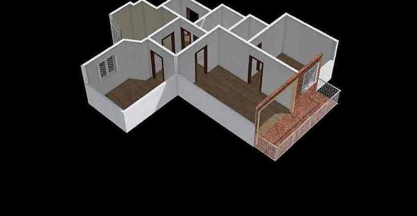 BERENGUER DE PALOU 86-90, 2-1 Interior Design Render